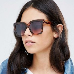QUAY Supine sunglasses in tortoise